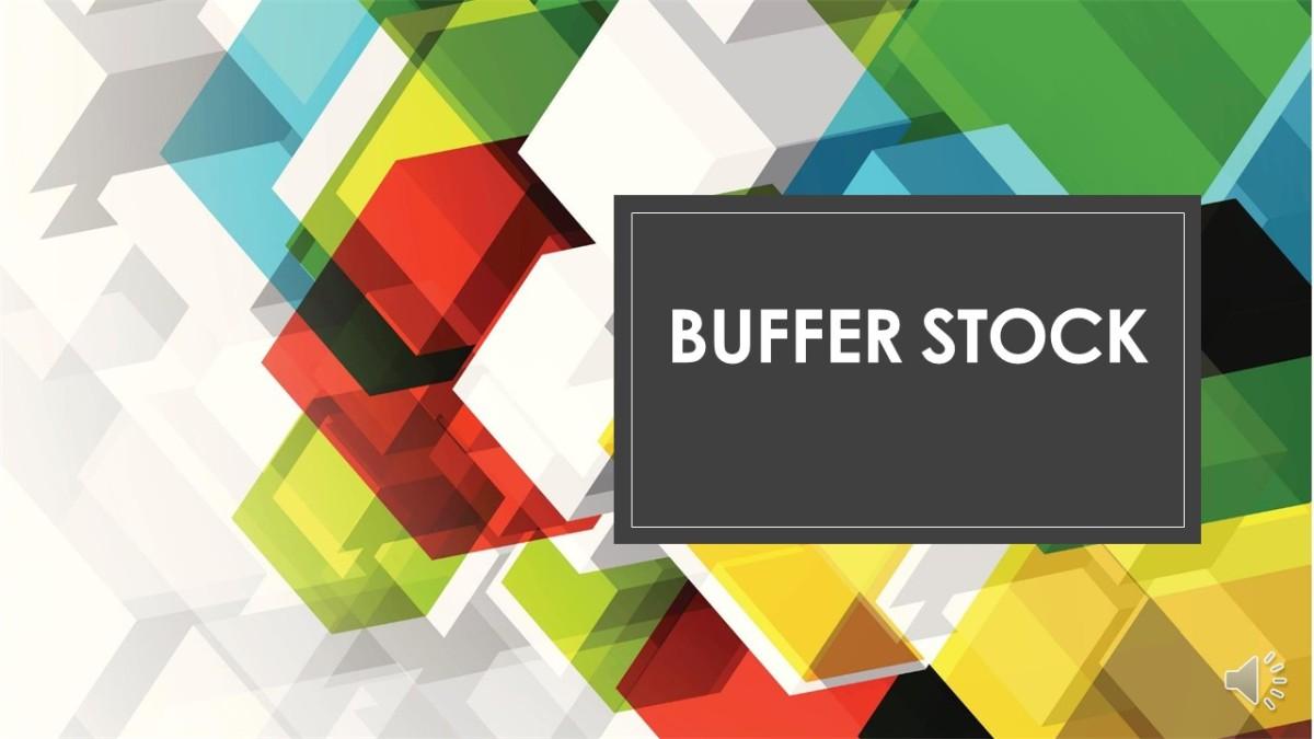Quiz – Cos'è un BufferStock?
